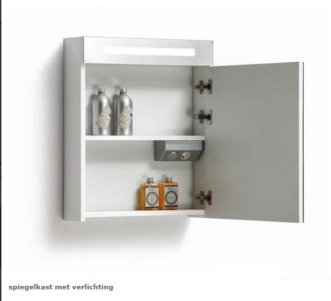 badkamerverlichting met schakelaar gasafsluiter elektrisch