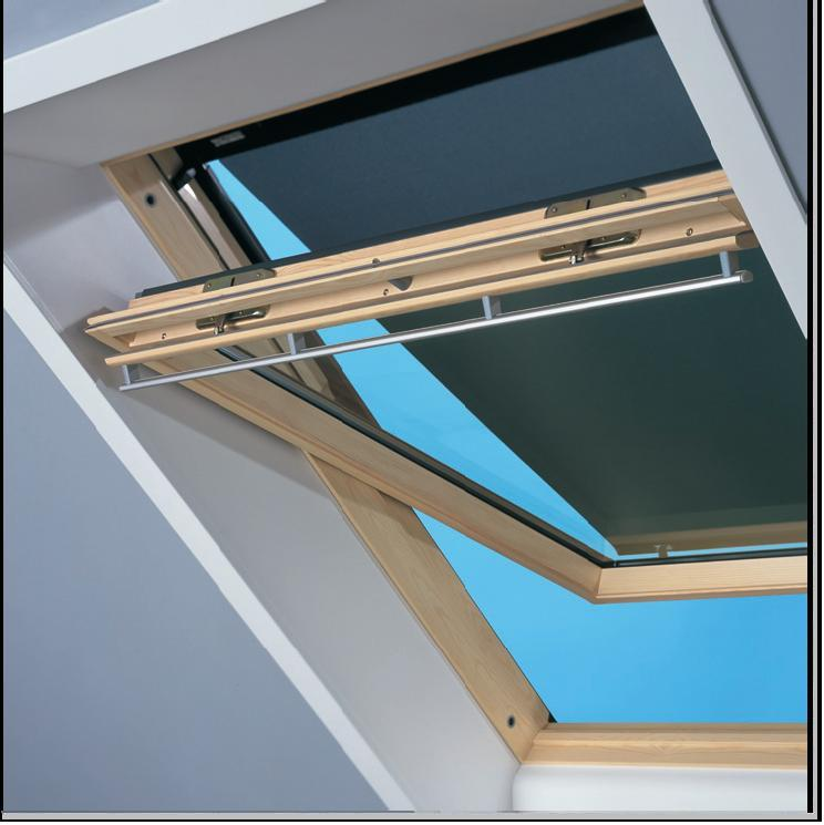 Contrio buitenzonwering mur5 screen voor u04 uk04 u08 for Outlet velux