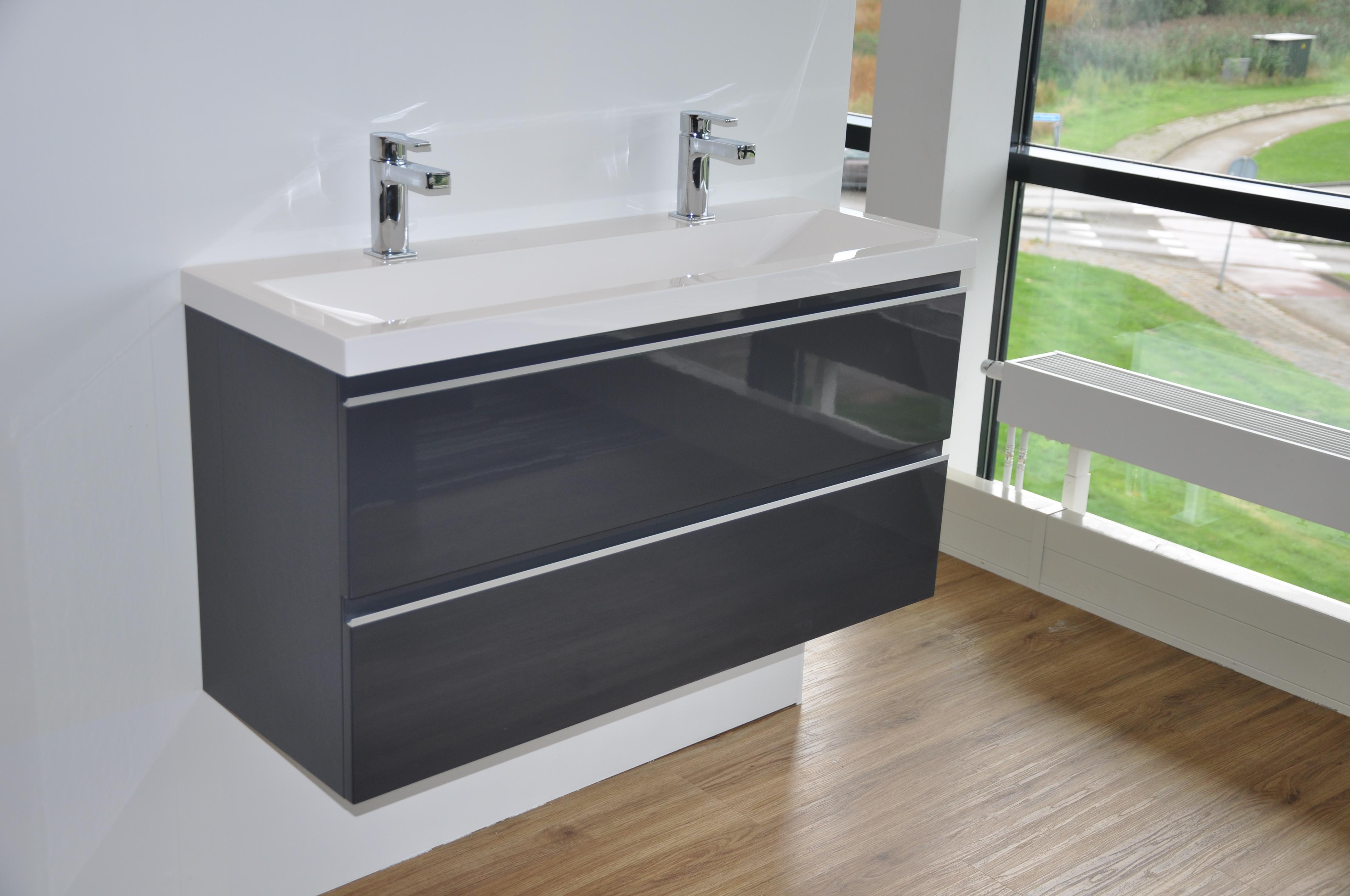 Ondiepe Wastafel Meubels : Wastafel kleine badkamer slimme oplossingen ruime keuze