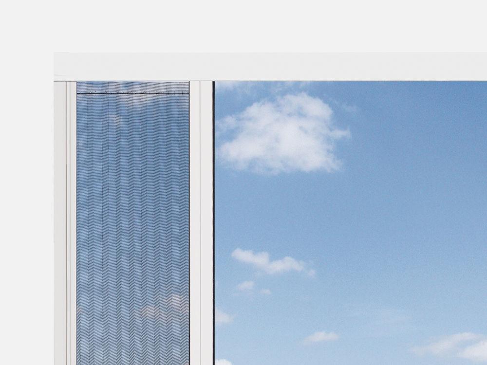 Geliefde Plisse hordeur BRUYNZEEL S700 voor schuifpui / deuren - www WO38