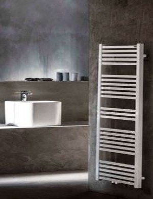 Tower radiator 119 x 60 cm wit